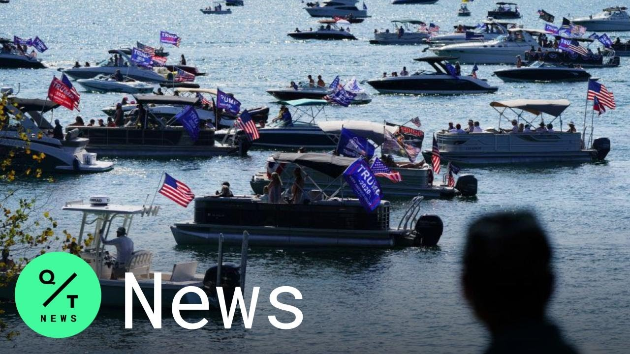 Multiple boats in distress, some sunk at 'Trump Boat Parade' on ...