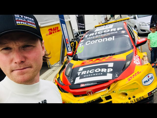 Race Weekend at Spa Francorchamps - Ended with a Huge Crash with Tom Coronel - VLog90 #PaulsenTV