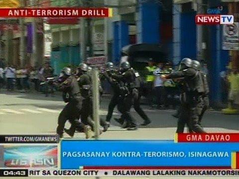 BP: Pagsasanay kontra-terrorismo, isinagawa sa Davao City