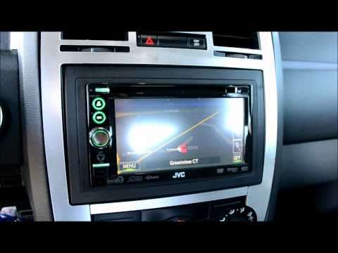 Changing Chrysler 300 1.5 Din To Executive GPS Double Din Dash Bezel