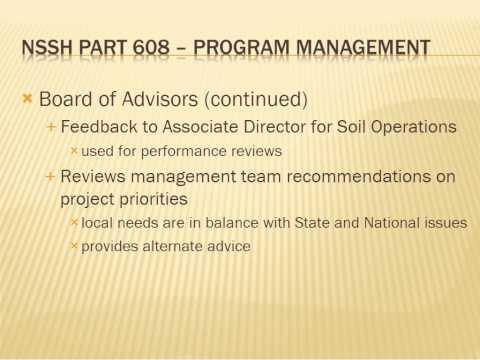 Webinar - National Soil Survey Handbook (5/2013)