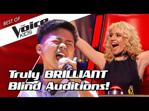 TOP 10 | Simply BRILLIANT Blind Auditions in The Voice Kids