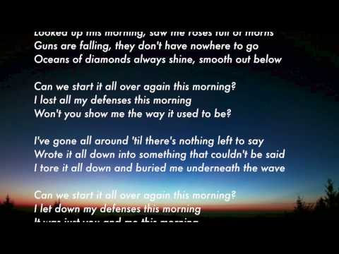 Beck - Morning Lyrics