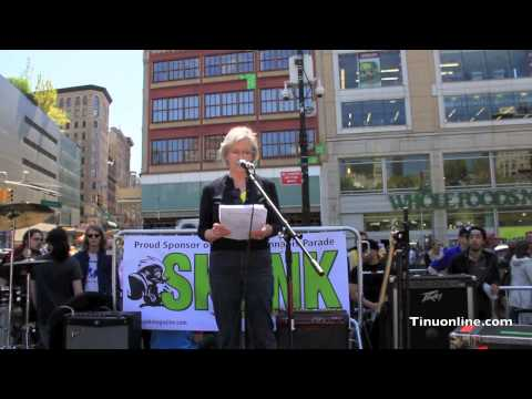 Marijuana Legalization Rally In New York City