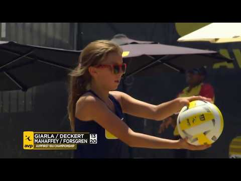 AVPFirst Manhattan Beach Showcase 2017: Girl's 10U Finals