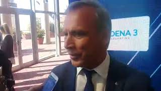 Andrés Fassi, presidente de Talleres hablando de la realidad del club