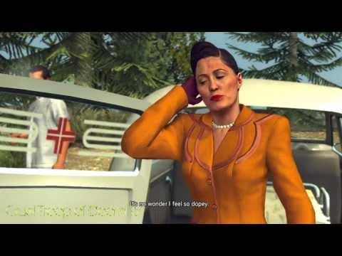 L.A. Noire: Perfect Interrogation - June Ballard At The Crime Scene [A Fallen Idol Case]
