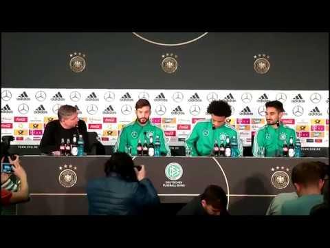 DFB PK mit Ilkay Gündogan, Leroy Sane & Marvin Plattenhardt 25.03.18