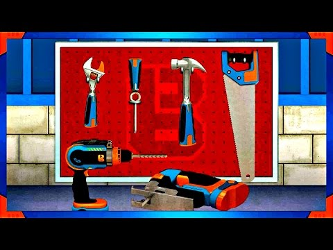 Bob The Builder: Bob's Tool Box Try out How Tools Work!  Educational Game for Kids