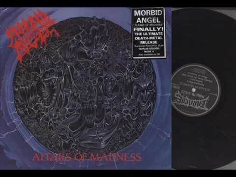 Morbid Angel - Altars Of Madness (Full Album 1989) [VINYL RIP]