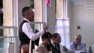 Father of the Bride Speech Richmond Park 2013