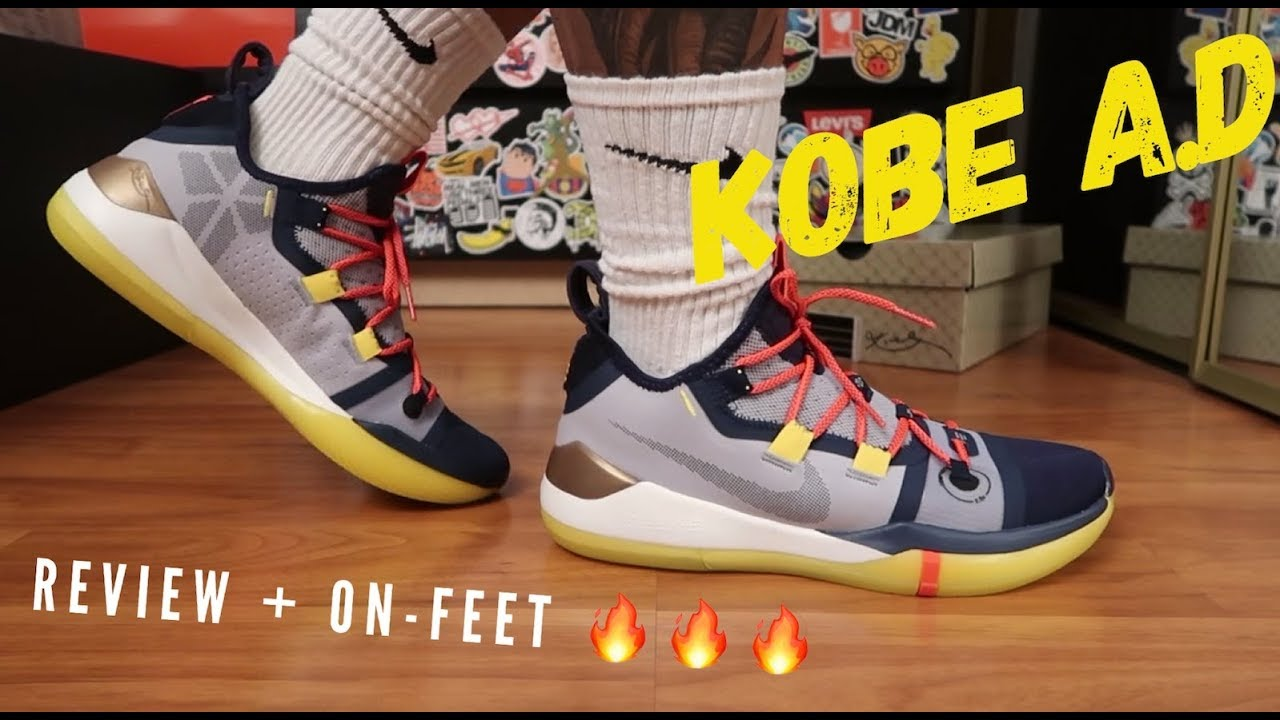 e97e16c9abf nike kobe A.D 2018 review + on-feet - YouTube