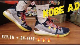 check out dba53 71b1a nike kobe A.D 2018 review + on-feet ...