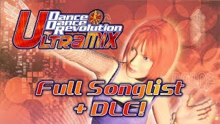DanceDanceRevolution ULTRAMIX (Xbox) Full Songlist + DLC
