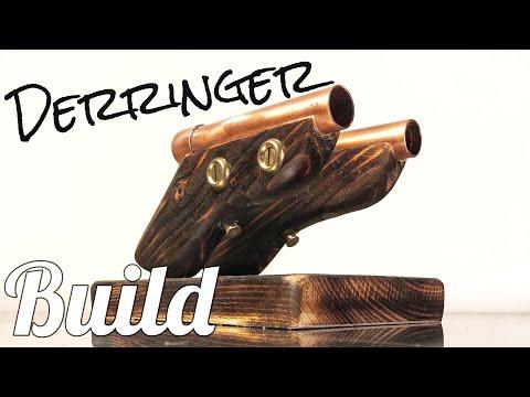 Making A Set Of Derringer Pistol Models | Astro Ray Guns