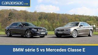 Comparatif 2017 - BMW série 5 vs Mercedes Classe E : mêmes joueurs, nouveau match