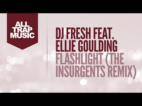 DJ Fresh ft. Ellie Goulding–Flashlight. Песня KA4KA.RU - DJ Fresh ft. Ellie Goulding - Flashlight (The Insurgents Remix) в mp3 256kbps