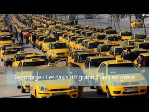 Reportage RTCI : Les taxis du grand Tunis en grève