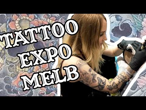 Tattoo Expo In Melbourne | Lil J