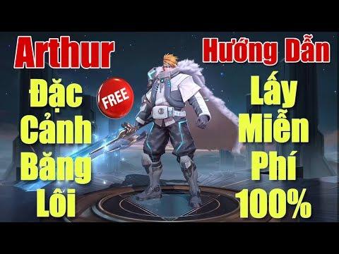 [Gcaothu] Hướng dẫn nhận Arthur Đặc Cảnh Băng Lôi miễn phí 100% - Không cần bỏ quân huy | Sea Games