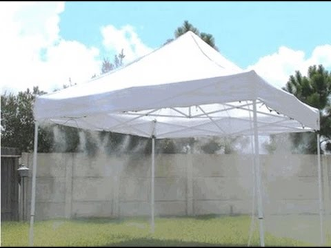 Canopy Cool .006  u0026 .012  Nozzle Mist Spray Patterns & Canopy Cool .006