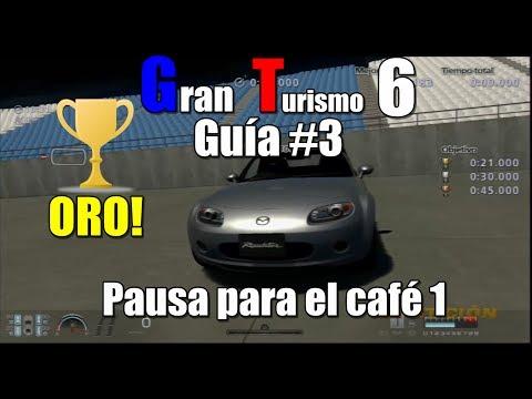 Gran Turismo 6 | Guía #3 | Novato | Desafío Pausa para el café | Desafío de conos: Prueba 1 | HD