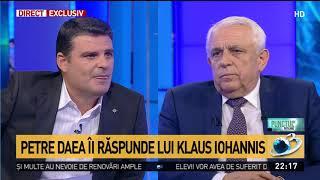 Petre Daea, mesaj exploziv pentru Klaus Iohannis în scandalul pestei porcine