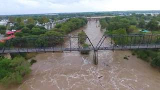 Flight over New Braunfels Floods 10/30/2015