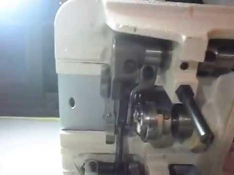 Cómo subir o bajar los dientes de la maquina de coser