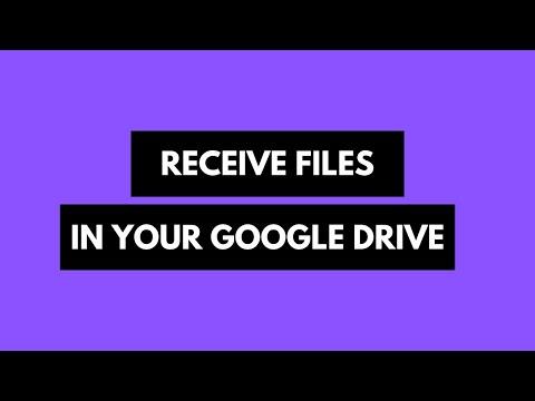 So erstellen Sie Formulare, die das Hochladen von Dateien in Google Drive ermöglichen