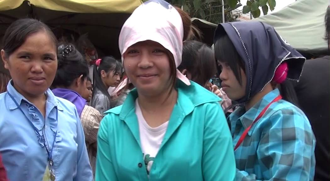 Fashion Child Labour in Cambodian Reebok & Nygard Sweatshop