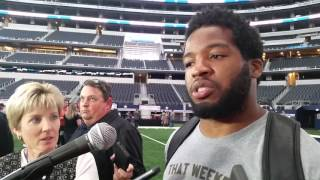 Cowboys running back Alfred Morris welcomes challenge of top pick Ezekiel Elliott