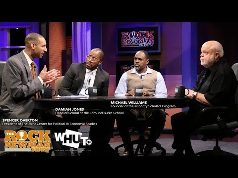Black Male Achievement Gap on The Rock Newman Show