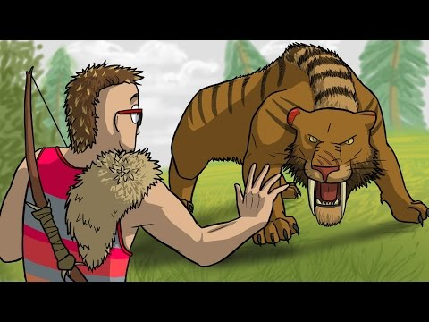 A Wild Sabretooth Appeared! (Far Cry Primal Funny Moments)
