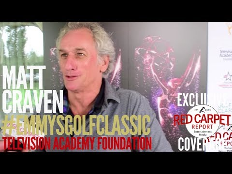 Matt Craven interviewed at the 18th Annual Television Academy Foundation Golf Classic #Emmys