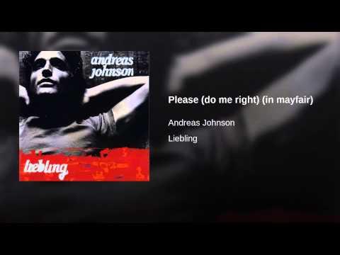 Andreas Johnson - Please (do me right) K-POP Lyrics Song