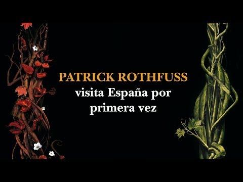 Lectura Patrick Rothfuss auditorio Penguin Random House