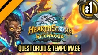 Hearthstone: The WitchWood - Quest Druid & Tempo Mage