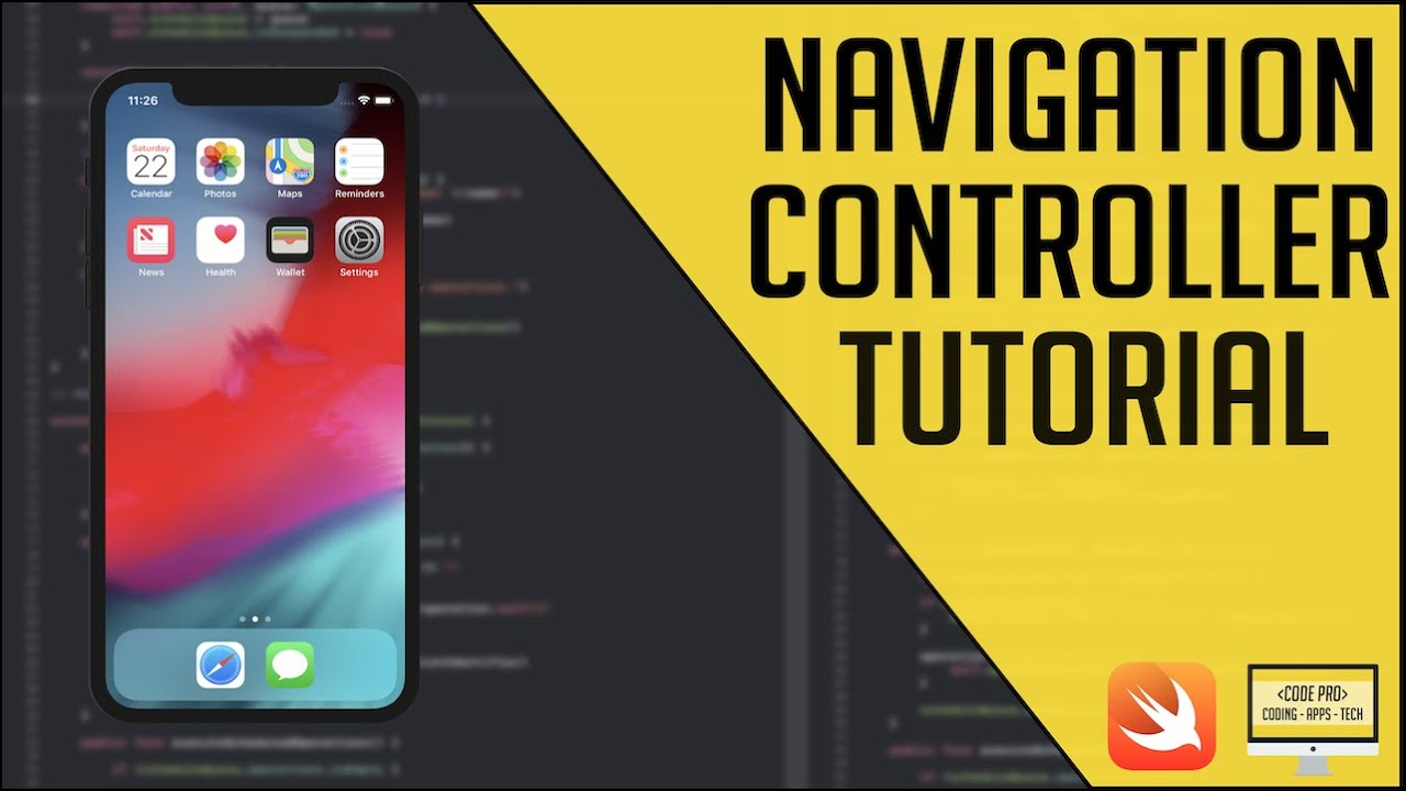 iOS Navigation Controller Tutorial (Xcode 9 | Swift 4)