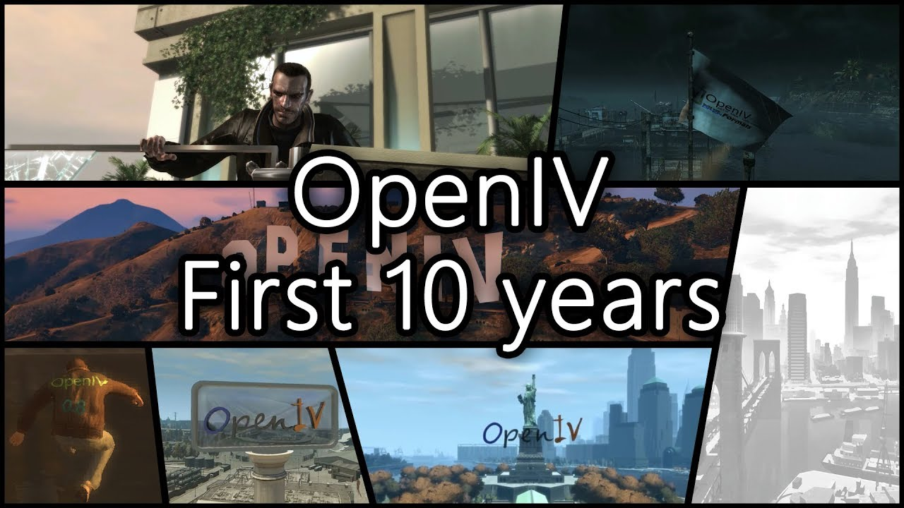 OpenIV – The ultimate modding tool for GTA V, GTA IV and Max Payne 3