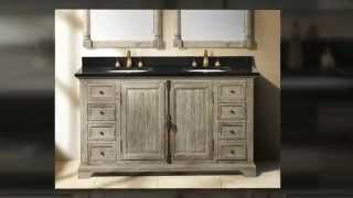 Weathered Wood Driftwood Solid Wood Bathroom Vanities By James Martin Furniture - Homethangs.com
