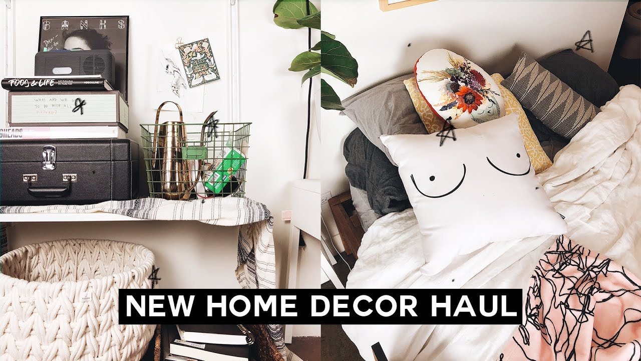 new home decor haul 2018 imdrewscott   youtube