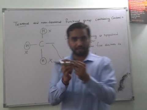 """Terminal and Non Terminal Functional Group of Organic compunds""""Chemistry tutorials pathshala"""""""