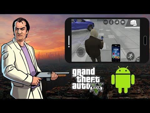 Вышла GTA 5 BETA на телефон!