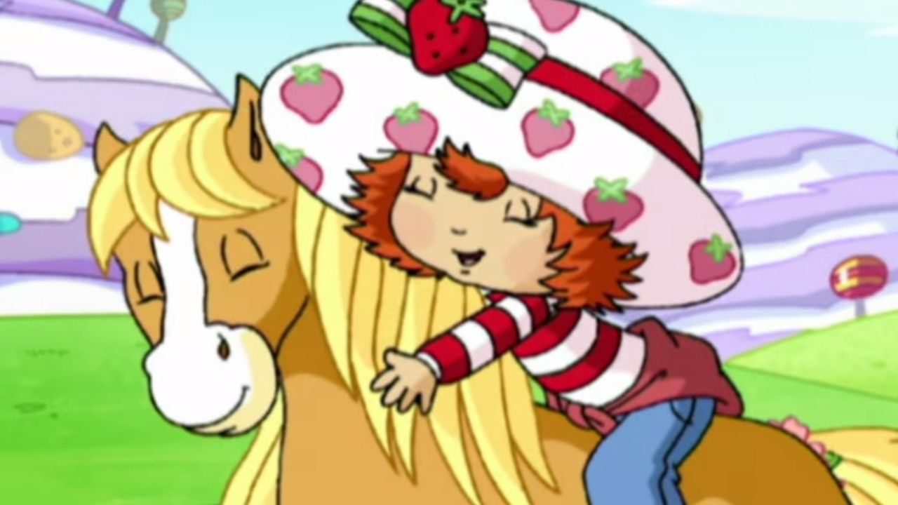 Strawberry Shortcake Horse Of A Different Color
