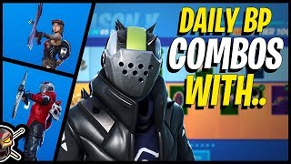 Daily Battle Pass Combos with X-LORD in Fortnite!
