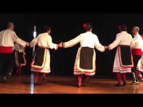 """Bulgarian Rhythms"" traditional dance group, Sydney Australia, 22.09.2013"