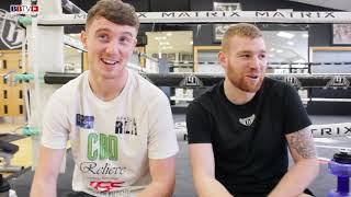 GYM MATES: BRAD REA AND CHRIS BLAINEY STRENGTH AND CONDITIONING DAY....