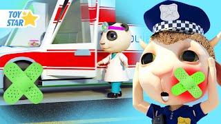 다치셨어요 !  동요모음   안전교육   상처 응급처치…
