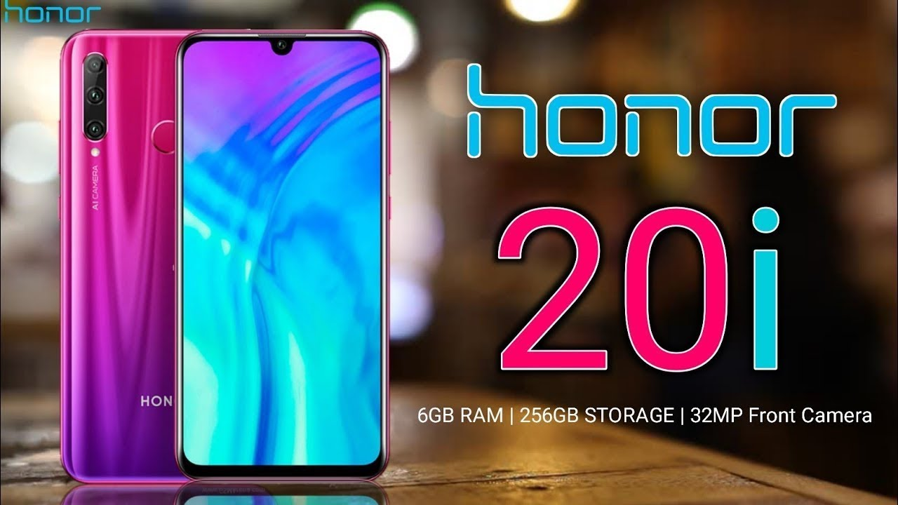 Honor 20i 32 MP Front Camera, review